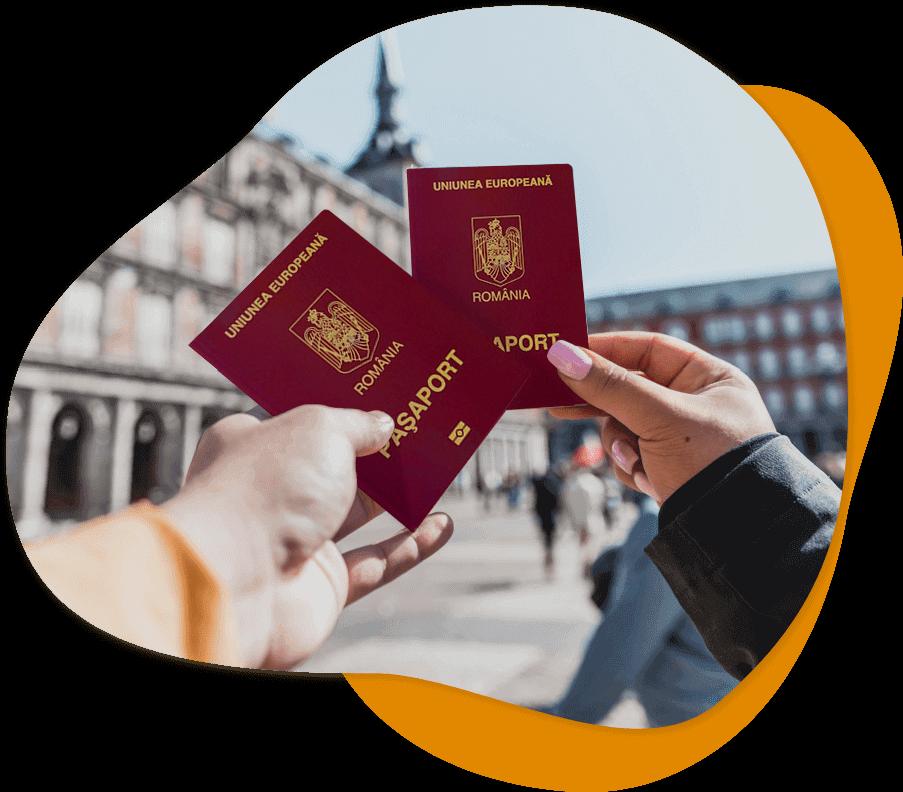 сделать паспорт румынии